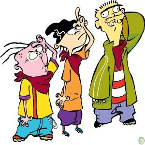 Eddy (Left) Edd (Middle) Ed (Right)